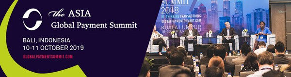The Asia Global Payment Summit. Bali, Indonesia. 10-11 October 2019